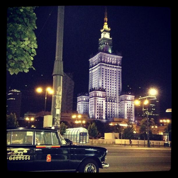 La herencia monumental-estalinista en algunos de los edificios de Varsovia