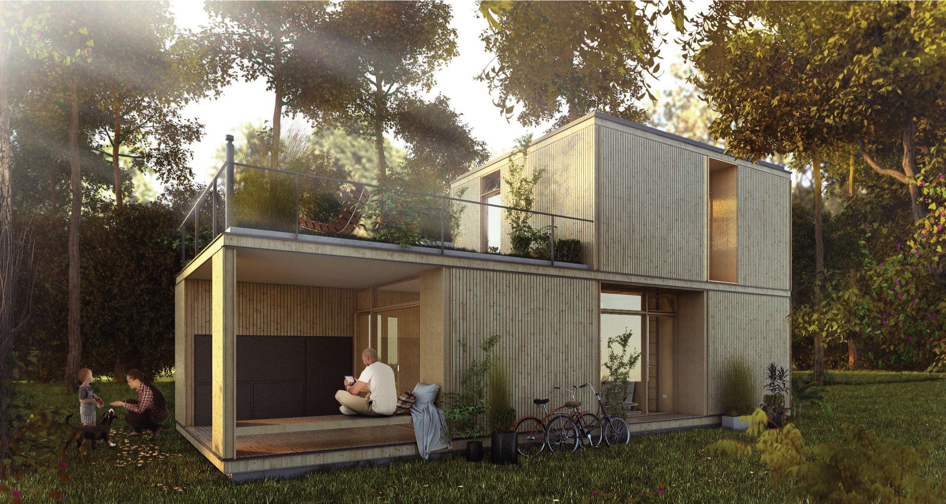 Modulos casas fabulous ccr u casa de madera economica - Modulos prefabricados para viviendas ...