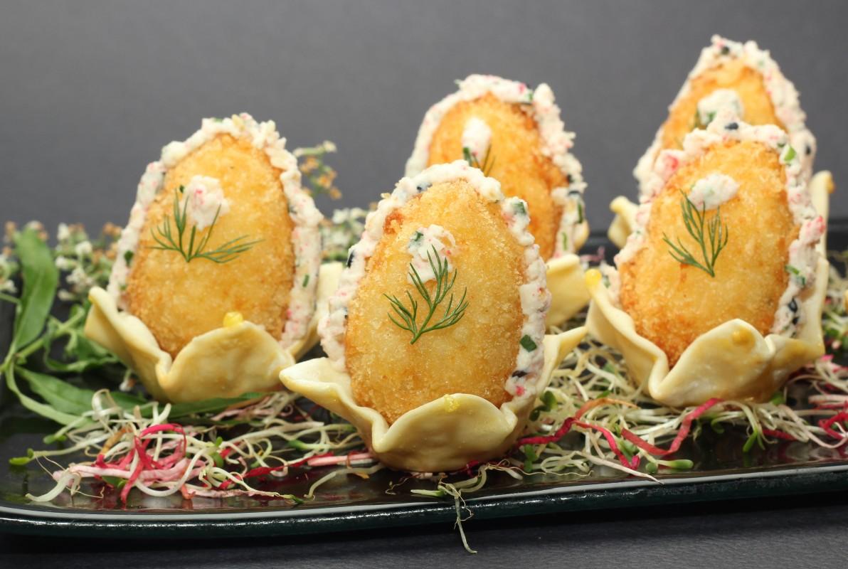 Kokoro Sushi - Huevos de Centolla
