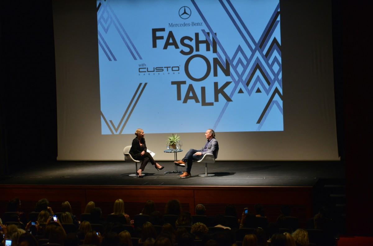 Mercedes-Benz Fashion Talk. Custo Barcelona. Foto 1