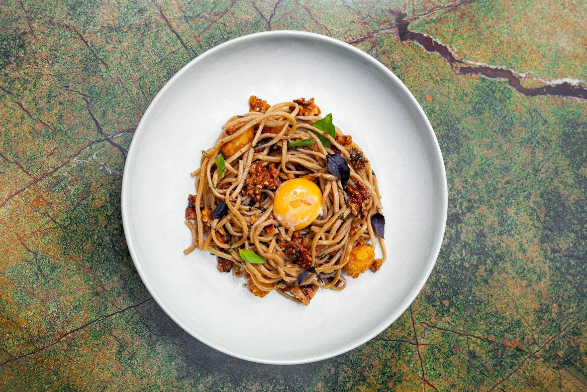 Espaguetis caseros - Casa Cavia - baja