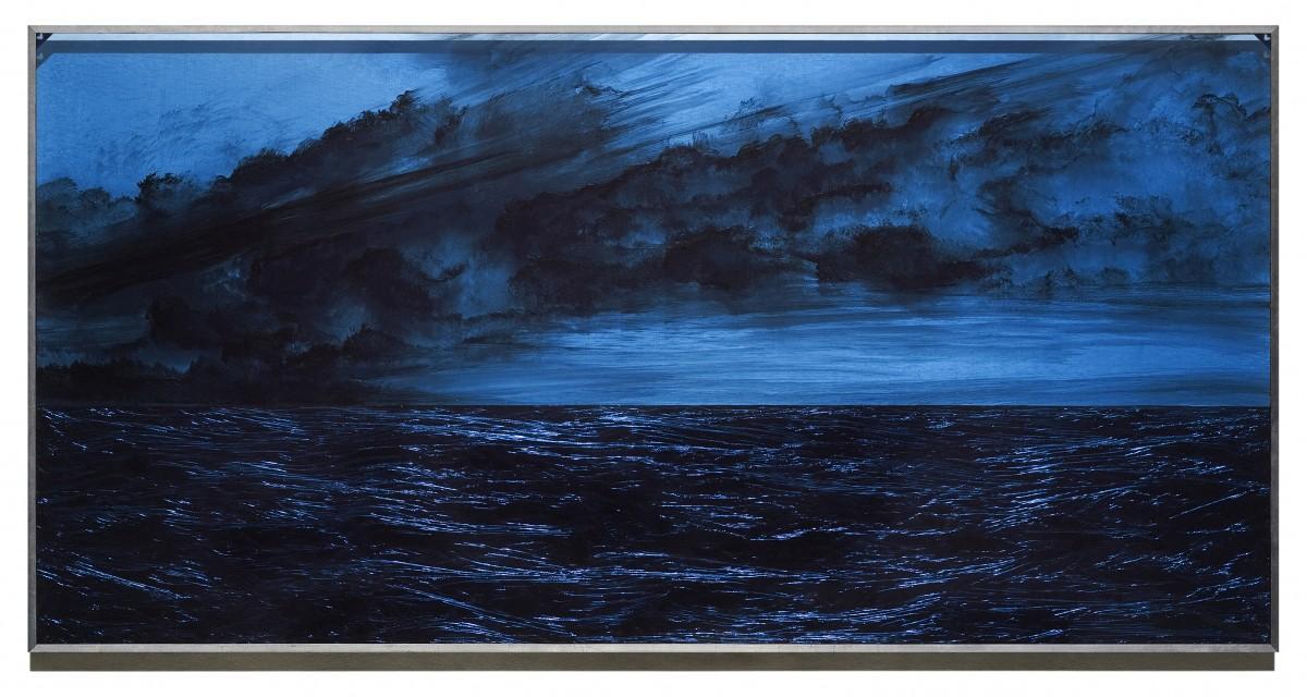Jacques Bedel, Aproximación al mal, 2007 - Resina acrílica entre dos placas de PVC, 122 x 224 cm