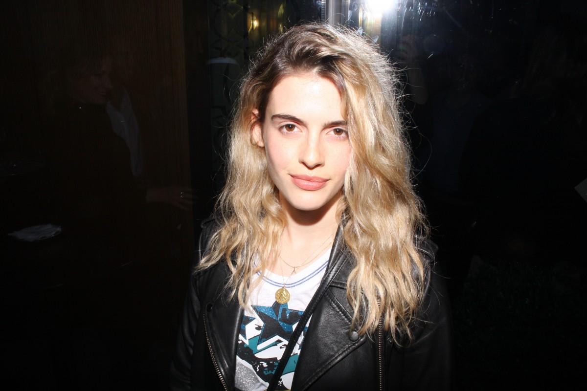 Chiara Parravicini en la inauguració del Crystal Bar en el Alvear Icon