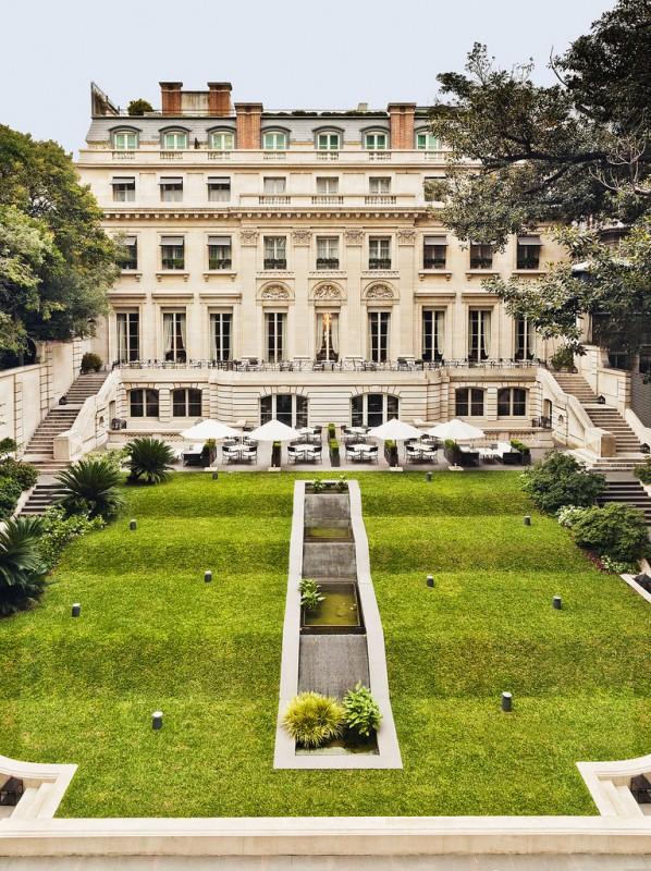 Jardines del Palacio Duhau
