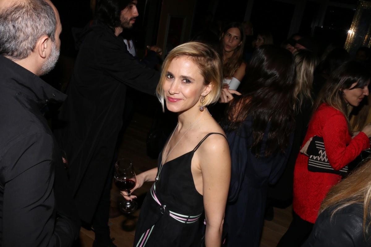 Soledad Rodríguez Zubieta en la inauguración del Crystal Bar en Alvear Icon