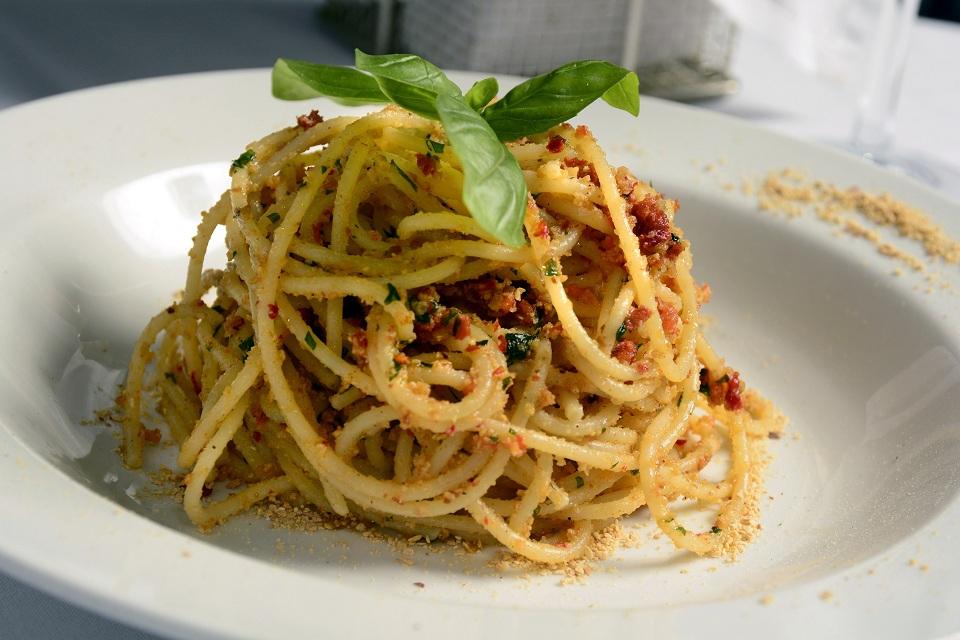 6. Pasta con nduja - Ike Milano