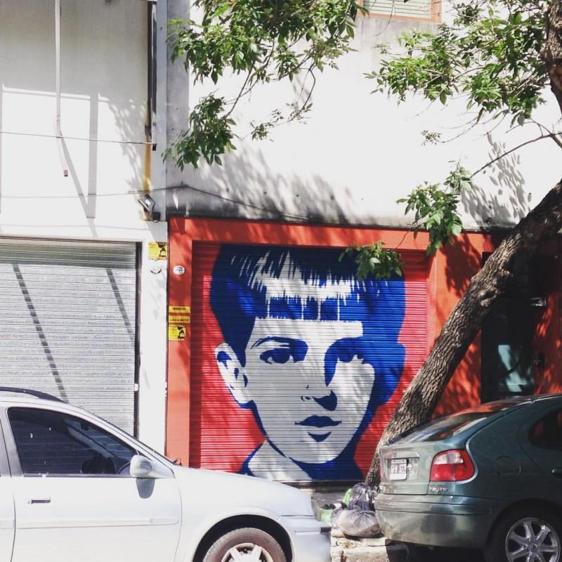Niños azules #5 - Villa Crespo - 2016