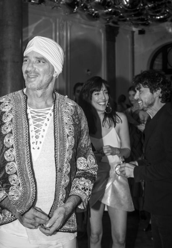Alan Faena + Paula Kohan + Wally Diamante