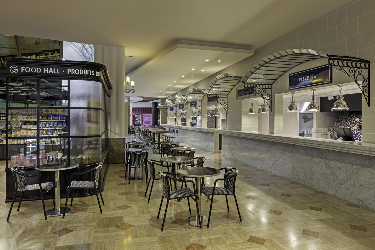 El Mercado de Gourmand Food Hall de Patio Bullrich