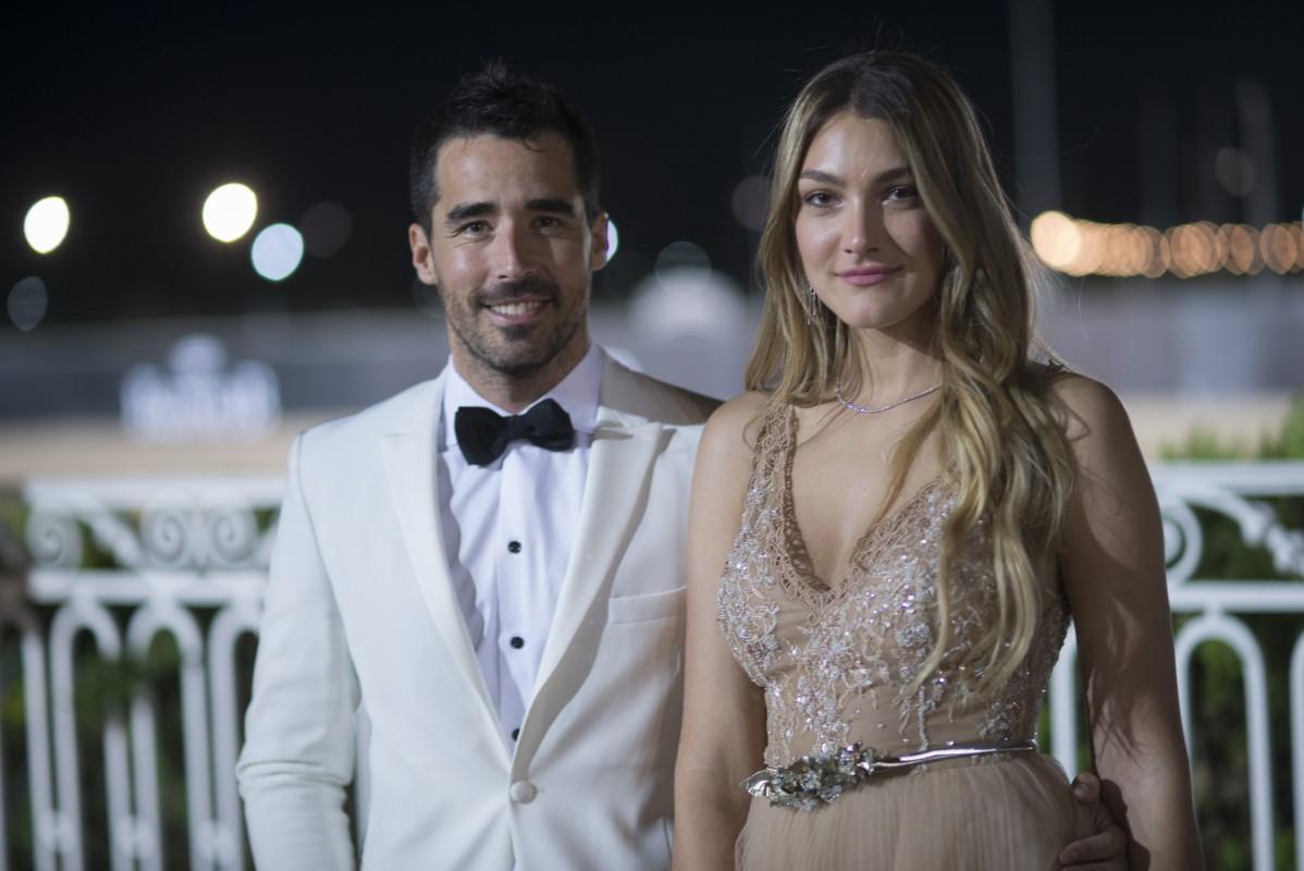 Nacho Viale y Lucia Pedrazza en la séptima edición del Prix de Baron B