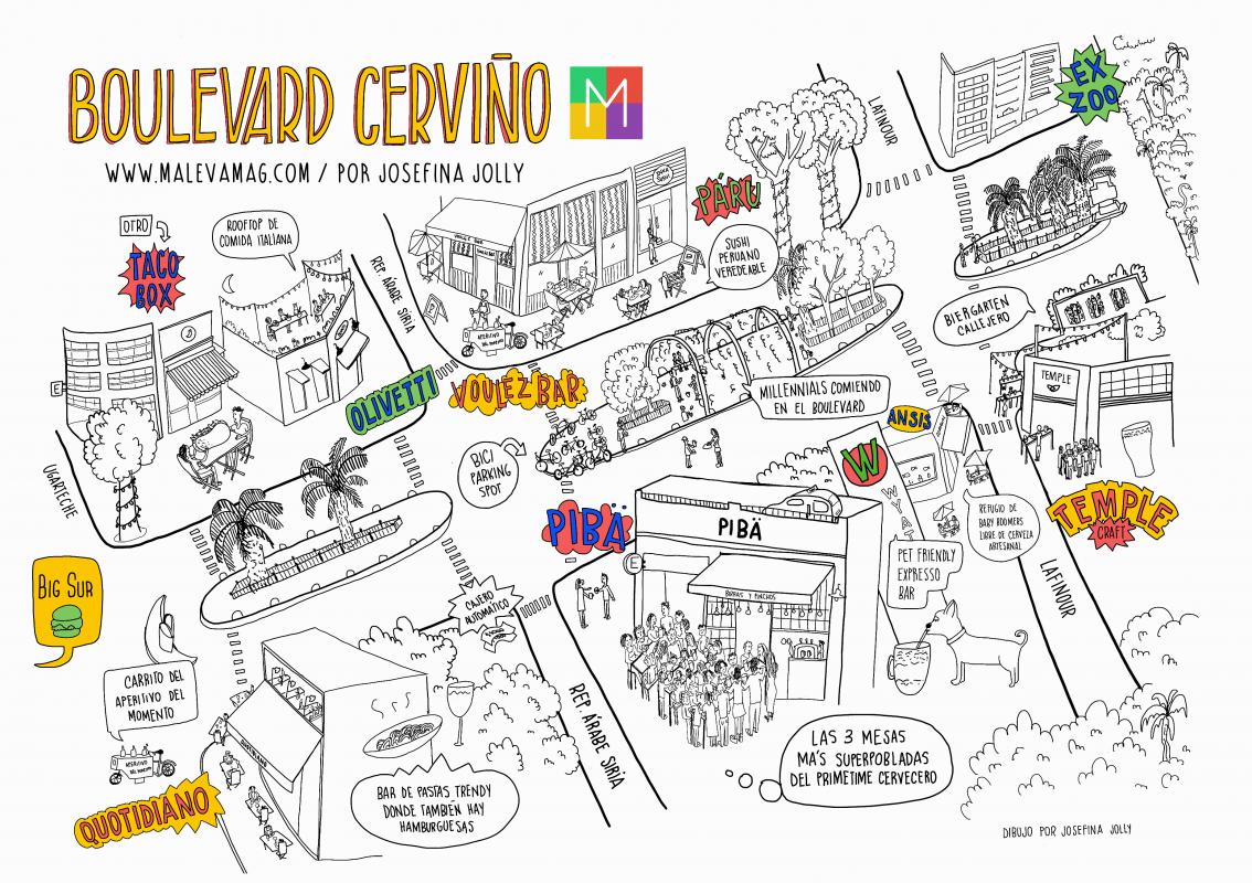 Cerviño mapa con logo