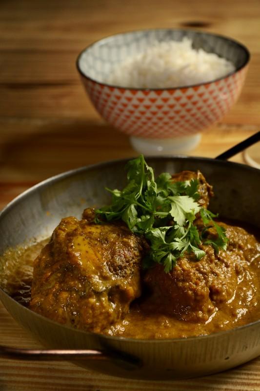 OPIO - Curry amarillo de pollo