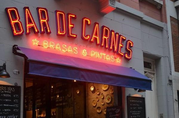 bar de carnes face