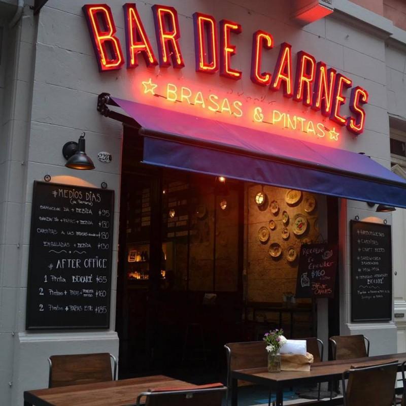 Bar de Carnes Fachada (1)