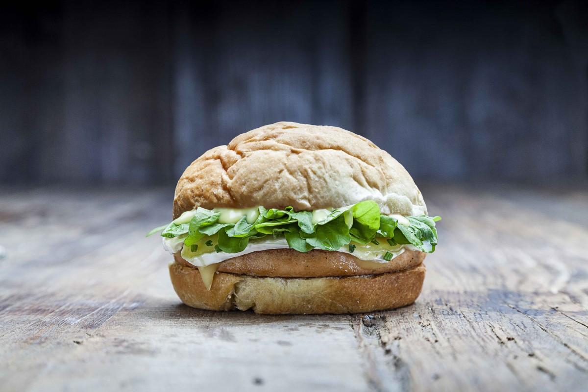 Salmon Burger - Prensa