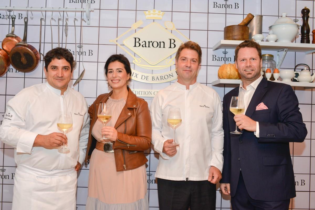 El jurado del Prix de Baron B edición Cuisine (1)