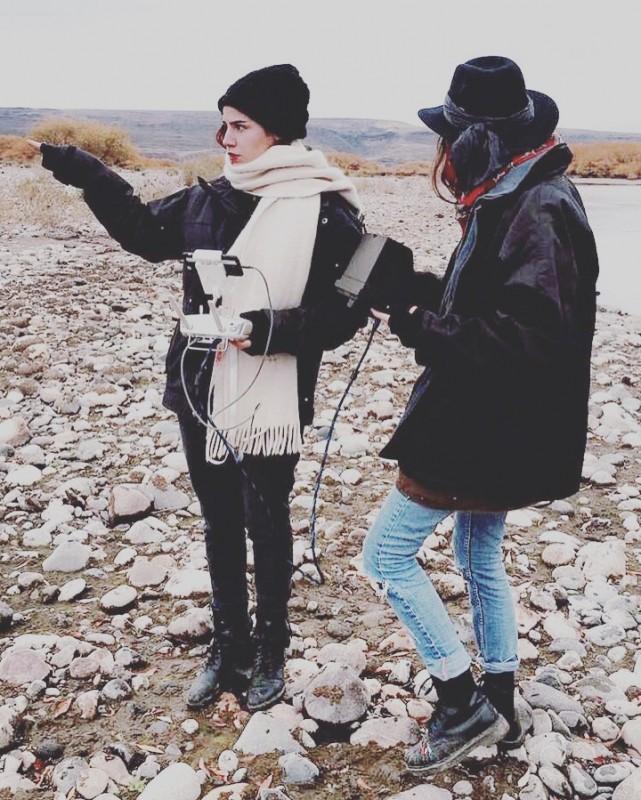 Martu y Oli en Patagonia