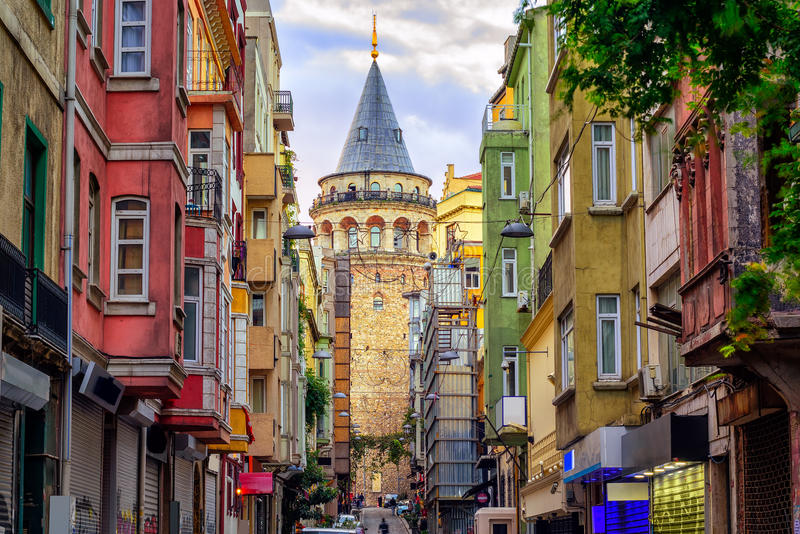 galata-tower-old-town-istanbul-turkey-street-86227037